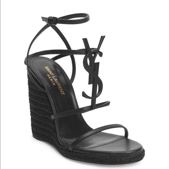 68e1d6a7fe Brand new YSL wedge sandal size 40 NWT
